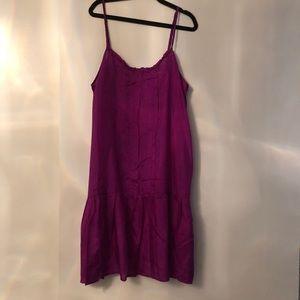 Dresses & Skirts - Silk Slip Dress from Urban Outfitters